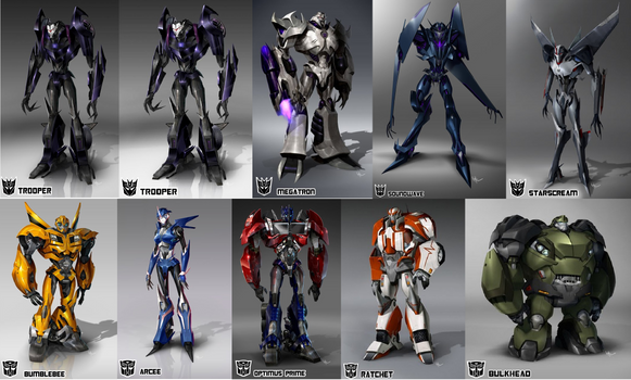 transformers prime by tfsideways