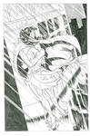Blue Bulleteer page 1 by sjlarson