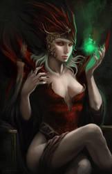 The sorceress by eronzki999