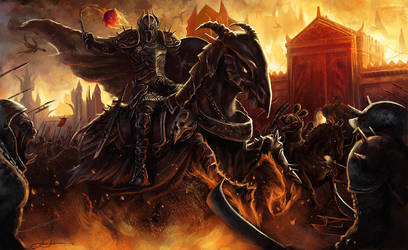 War in Hell by eronzki999