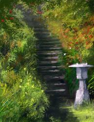 Garden by eronzki999