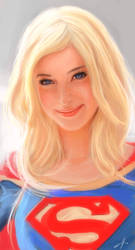 Supergirl by eronzki999
