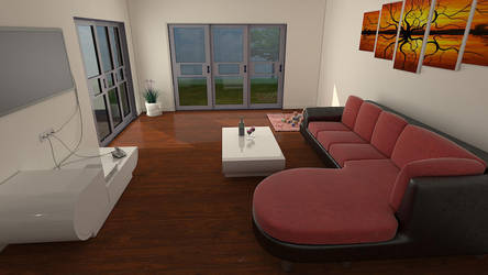 Living Room by gulisch