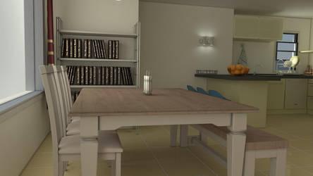 Dining Room by gulisch