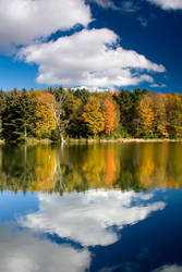 Autumn Reflection by Kirpernicus