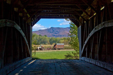 Covered Bridge Farm by Kirpernicus