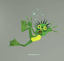 Grindylow 02 by Chapet