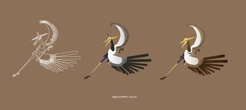 Master Crane by Chapet