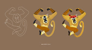 Master Monkey by Chapet