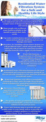 Residential Water Filtration System for a Safe by SusanMarie1