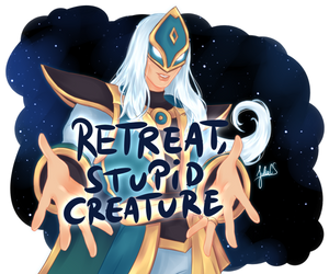 Jenos giving tips on how to play better by JULIA-CS