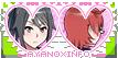 Yandere Simulator stamp: Ayano x Info-chan by ENERHEL