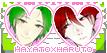 Yandere Simulator stamp: Hayato x Haruto by ENERHEL