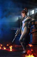 StarCraft2: Sarah Kerrigan. 2 by aKami777