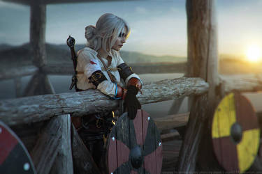 The Witcher 3: Wild Hunt - Cirilla 5 by aKami777