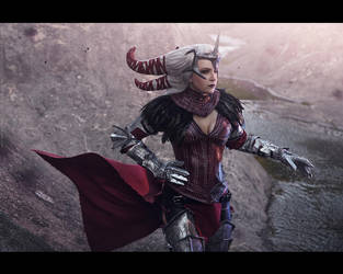 Dragon Age - Flemeth. 1 by aKami777