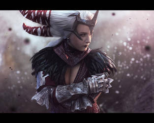 Dragon Age - Flemeth. 4 by aKami777