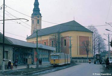 Dorozsma, Tram 1977 by MrNorbert1994
