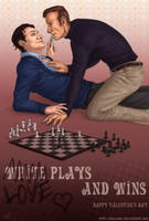 You may kiss the White King by Shaliara