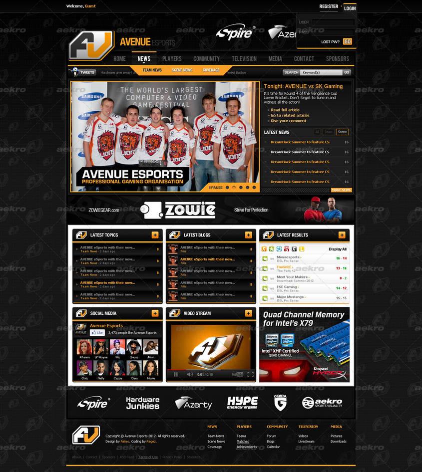 Avenue Esports by aekro