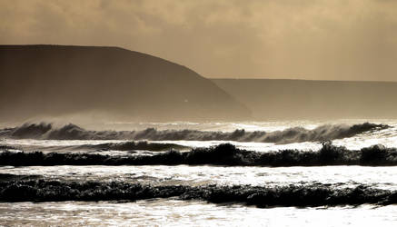 Chapel Porth February . by Hanger17