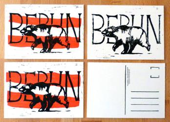 Berlin Postcard Set by EarthEvolution
