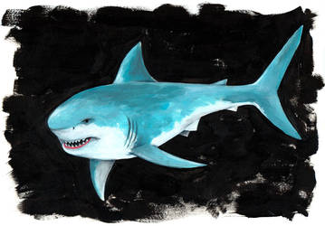 Great White by EarthEvolution