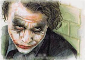 The Joker by RoryonaRainbow