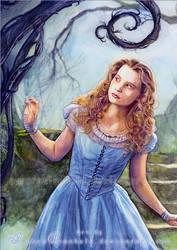 Burton's Alice in Wonderland by RoryonaRainbow