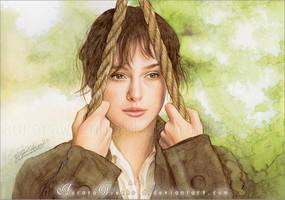 Keira Knightley by RoryonaRainbow