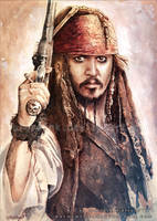 Jack Sparrow by RoryonaRainbow