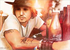 Johnny Depp by RoryonaRainbow