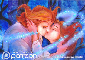 Breaking the curse - Beauty and the Beast 1991 by RoryonaRainbow