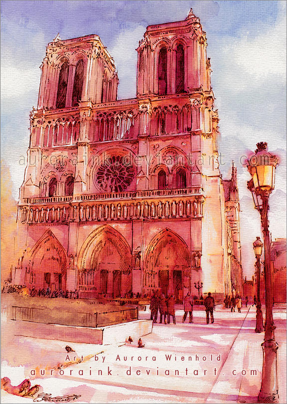 Notre Dame by RoryonaRainbow