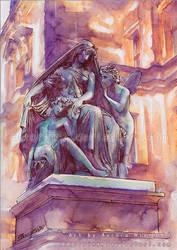 Whispers - Watercolors by RoryonaRainbow