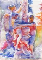 The dance of light by RoryonaRainbow
