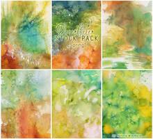 Watercolor - Stock Pack 1 by RoryonaRainbow