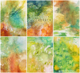 Watercolor - Stock Pack 1 by RoryonaRainbow