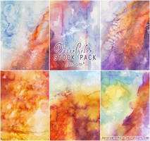 Watercolor - Stock Pack 2 - Bloom by RoryonaRainbow