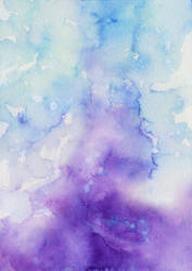 STOCK: Watercolor Texture ''Frost'' by RoryonaRainbow