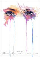 Rainbow Tears by RoryonaRainbow