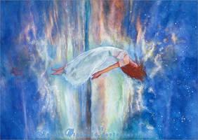 Jillian Aversa - Between ocean and sky by RoryonaRainbow