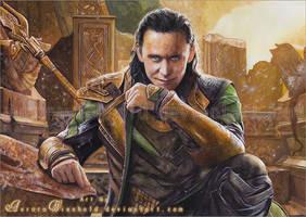 Loki - God of Mischief by RoryonaRainbow