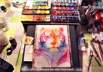 Rainbow stripes - Workspace preview by RoryonaRainbow