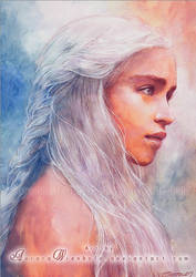 Daenerys Targaryen by RoryonaRainbow