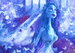 The Corpse Bride - Watercolors by RoryonaRainbow