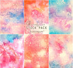 Bubblegum - WATERCOLOR STOCK PACK by RoryonaRainbow