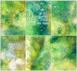 Under the trees - WATERCOLOR STOCK PACK by RoryonaRainbow