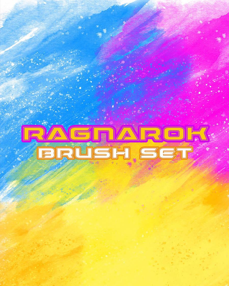 Brush Set - Ragnarok by RoryonaRainbow
