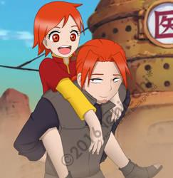 Naruto OC - Toshimi and Toshizou by ichicchi